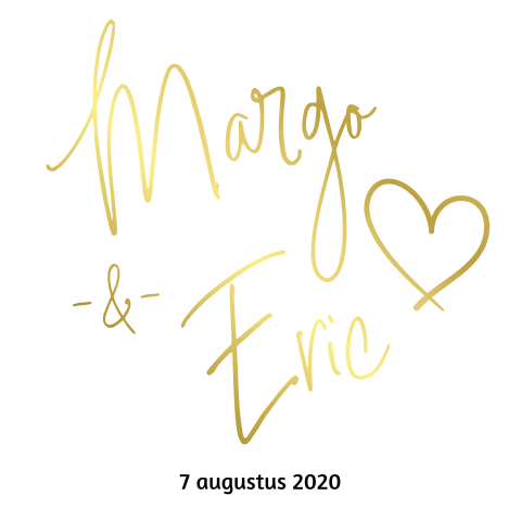 Trouwkaart Margo&Eric_blanco